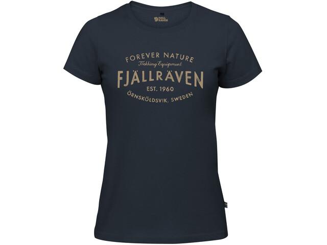 Fjällräven Est. 1960 T-Shirt Women navy
